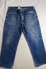 Carhartt 9230 PRW Heavy Denim Hige Fade Work Jeans Measure 38x30 Straight Leg