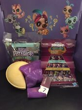 Littlest pet Shop Lucky Pets Fortune Cookie 🥠 Jade Seahorse New Partially Open