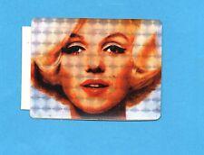 MARILYN MONROE - ADESIVO/STICKER C038 -VINTAGE anni 80 - cm.6x7,5