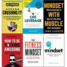 Crushing it life leverage mindset with muscle how to be 6 books collection PB