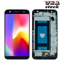 Fit For LG Fiesta 2 LTE L163BL丨L164VL LCD Touch Screen Digitizer ±Frame