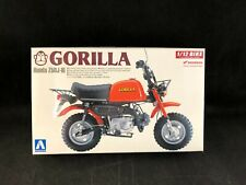 Aoshima Honda Gorilla Z50J-III Mini Bike 1:12 Scale Plastic Model Kit 48788 NIB