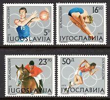 Yugoslavia - 1984 Olympic games Los Angeles - Mi. 2048-51 MNH