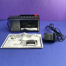 Vintage GE General Electric Compact Cassette Player Recorder Model 3-5300