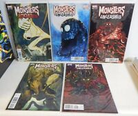 Marvel Comics Monsters Unleashed Set of 5 Variant Covers 1 2 3 4 5 NM+