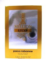 Paco Rabanne One 1 Million Lucky EDP 1,5ml Vial Sample Size Perfect For Travel