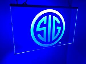 Sig Firearms Super Bright Led Neon Light Sign