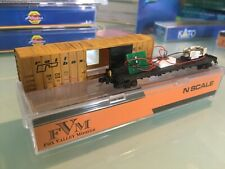 New Listingfox valley models, n-scale railbox with end of train device, used, weathered.