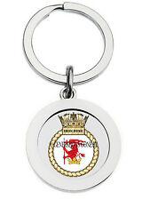 HMS IRON DUKE KEY RING (METAL)