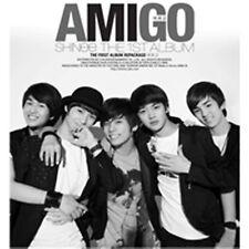 K-POP SHINEE 1st Repackage Album [Amigo] CD + Photobook Sealed