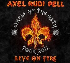 AXEL RUDI PELL - LIVE ON FIRE - 3LP COLORED VINYL NEW SEALED 2013