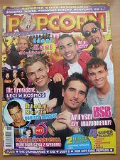 POPCORN: BACKSTREET BOYS,Britney Spears,Ricky Martin,Cranberries,Tarkan,Sasha