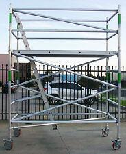 Scaffold - New Aluminium Mobile Scaffolding Tower - Reach 4.5m