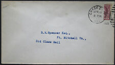 Cover - True 3 Cent Bisect to 1 1/2 Ct 3rd Class Mail rate - Chase Va S29