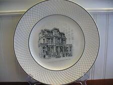 1962 Copeland Spode England Porcelain Mansard Union League of Philadelphia Plate