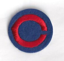 1970's Chicago Cubs patch hat cap old logo 2""