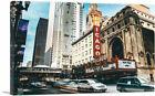 ARTCANVAS Chicago Theater Canvas Art Print
