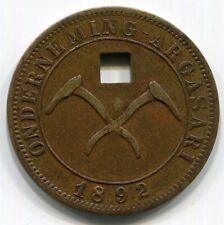 Java - 1892 Argasari Co. 1/2 Wage c/s 1 RRR