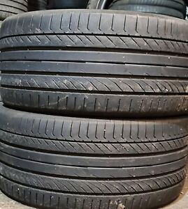 X2 Matching Pair Of 295/35/21 Continental Contact Sport 5p 103Y Tyres
