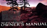 WRANGLER 1997 JEEP OWNERS MANUAL OWNER'S BOOK