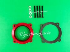 RED Throttle Body Spacer Fits 11-18 Dodge Chrysler 3.6L V6 /12-17 Jeep Wrangler