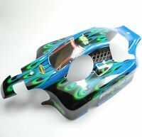 Carson 1:8 4WD Specter 3.0 V32 Karosserie Lackiert Beklebt Blau CS1®