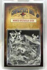 Knuckleduster KDM-12118 Mounted Spectacular Seven (Gunfighter's Ball) Old West