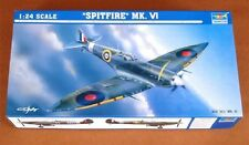 Trumpeter British Spitfire MK VI Plane Model Fighter Aircraft 02413 1/24 Scale