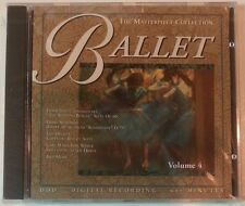 """BALLET Volume 4: The Masterpiece Collection by Various Artists (CD - USA) """"NEW"""""""