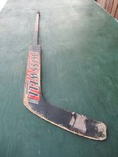 "Vintage Wooden 47"" Long Hockey Stick Goalie Winnwall"