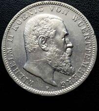 3 Mark Silbermünzen aus dem deutschen Kaiserreich für Jagd-& Schützenzunft auf Stempelglanz