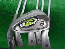 Ping Golf Rapture Ferro Set 5-PW Acciaio Flex Regolare Asta Mano Sinistra Nuovo