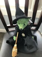 Steiff Wizard Of Oz Wicked Witch Of The Wear  Bear Rare W/ Tags 75th Anniversary