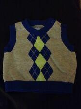 Baby boy Argyle sweater vest 0-3 months The Place