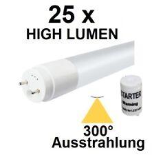 25 x 18 Watt LED-Röhre T8 / G13 120 cm, Kaltweiß, 2380 Lumen = 45 Watt Neonröhre
