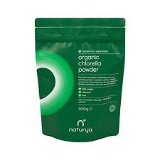 Naturya Organic Chlorella Powder 200 g Nutritional Power Food