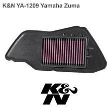 Yamaha Zuma 125 Scooter K&N High Performance Air Filter YA-1209