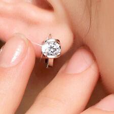 Le donne 925 piccolo moda gioielli Angel Kiss Orecchini A Perno Cristallo Di Lusso