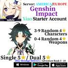 [America/NA/Europe/EU/Asia/AS] Genshin Impact Xiao Starter Account