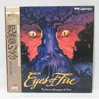 EYES OF FIRE 1976' Laserdisc LD Japanese subtitles Avery Crounse