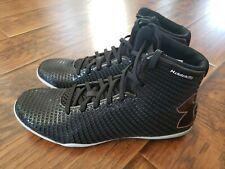 New Under Amour Clutchfit Mens Black Boxing Shoes Sz 9.5 3021507 001