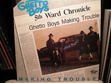 GETO BOYS - MAKING TROUBLE (VINYL LP)  1988!!  RARE!!  BUSHWICK BILL / GHETTO!!!