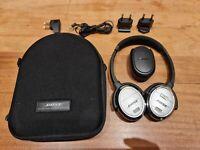 Bose QC3  audio headphones kopfhorer active noise cancelling over-ear