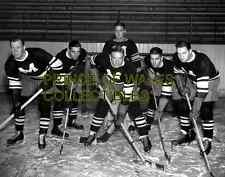 Montreal Maroons 1933-34..Northcott, Wentworth, Blinco, Kerr, Evans  PHOTO 8X10