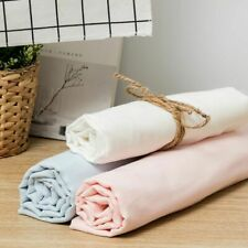 Eco-friendly Double Layer Gauze Fabric Cotton Sewing Breathable Plain Styles New