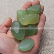 A+++++100g Natural Green Jade stone Rough Rock Polished healing specimen F446OP
