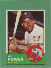 1963 Topps Vic Power #40 TOUGH CARD NM+ NM-MT CENTERED