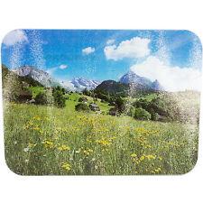40cm x 30cm vetro piano cucina Saver Protector tagliere sottopentola Mountain