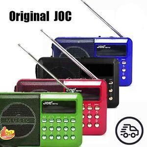 Radio portatile FM USB Ricaricabile microSD Mini Lettore MP3 JOC