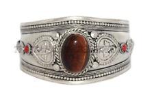 Tiger eye Bracelet Cuff Bracelet Tibetan Silver Bracelet Tribal Gypsy Bracelet